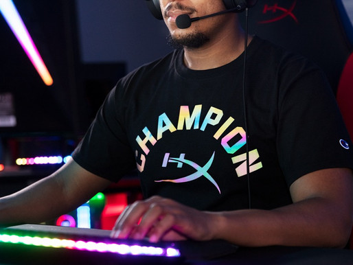 HyperX and ChampionR Athleticwear Announce Second Apparel Drop - The Reflective Collection