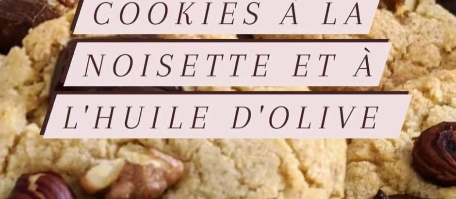 Cookies aux pépites de chocolat et aux noisettes (sans beurre)