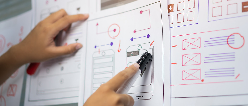 Desarrollo y diseño del concepto de una app.