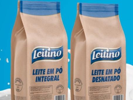 Através do Movimento Bem Maior, Leitino doa 1000 unidades de composto lácteo café com leite