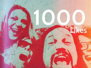 whoop whoop - 1000 Facebook likes