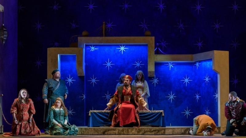 English Touring Opera's The Seraglio c Jane Hobson