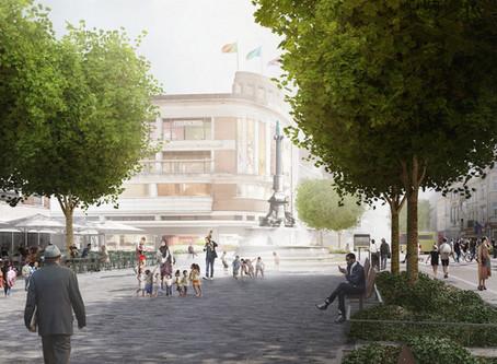 PHASE B – Place Verte - travaux août 2020