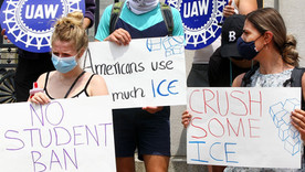 ICE takes back new visa restrictions ending a chaotic two weeks for international students