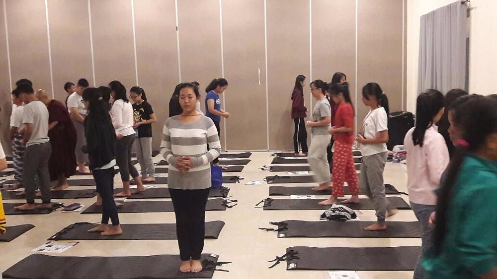 Retret Meditasi Sekolah Permai - Pluit