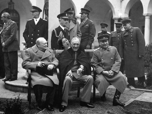 Puking king @The Yalta Conference