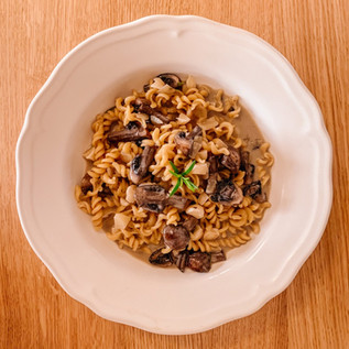 Creamy Mushroom & Macadamia One Pot Pasta