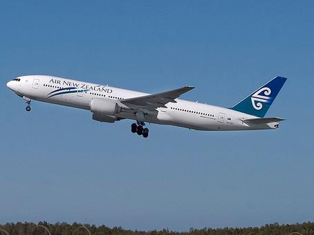 新西蘭撤僑包機將接250人歸國
