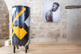 Thabisa Mjo is the first local designer to have her work in Museum of Decoration, Paris.