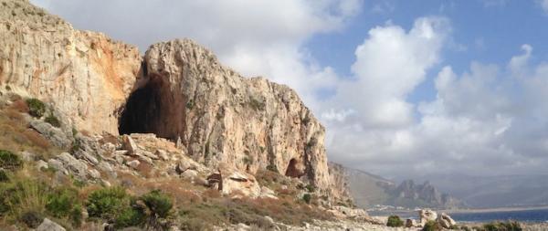 Grotto del Moscerini Mağarası. Kaynak...Haaretz