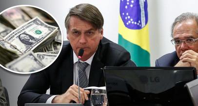 Saída de dólares do Brasil bate recorde em 2019