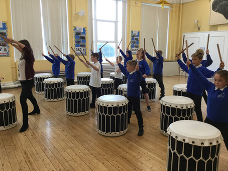 Taiko Workshop for Year 6 Parents