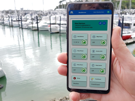 We've Updated The BoatSecure App