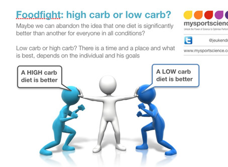 Foodfight: high fat versus high carb