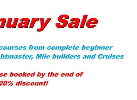 Brittany Sailing January Sale!!!!
