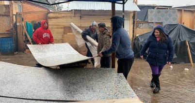 Más de 50 familias logran revestir su casa con chapas ecológicas #MiCajaAbrigaUnaCasa