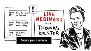 Live Webinars with Thomas Kolster