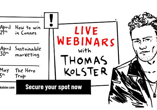 Live Webinars with Thomas Kolster