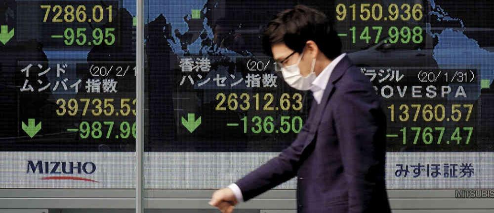 L'impacte del Coronavirus repercuteix en els mercats econòmics a nivell mundial Font: El Dinero.com - Fotografia AFP