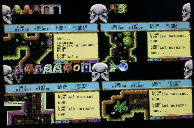 Lord of Dragonspire - A new C64 game announced by Sizzler team!
