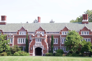 One of the buildings at Reed College, where I was an undergraduate (and the purpose each June for the trip to Oregon)