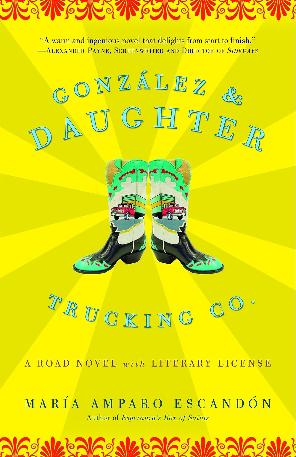 González & Daughter Trucking Co.: A Road Novel with Literary License By María Amparo Escandón 295 pages. 2005. The Book Slut book reviews thebookslut the book slut bookshop