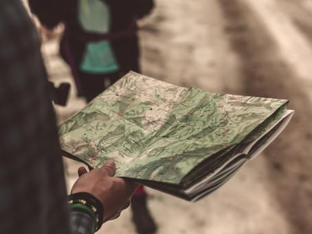 9 map, co vás dovedou zpět na cestu k vašemu cíli