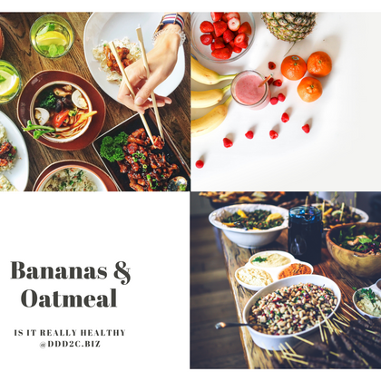 Are Bananas & Oatmeal Healthy