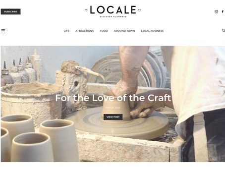 We're Featured in Discover Locale!