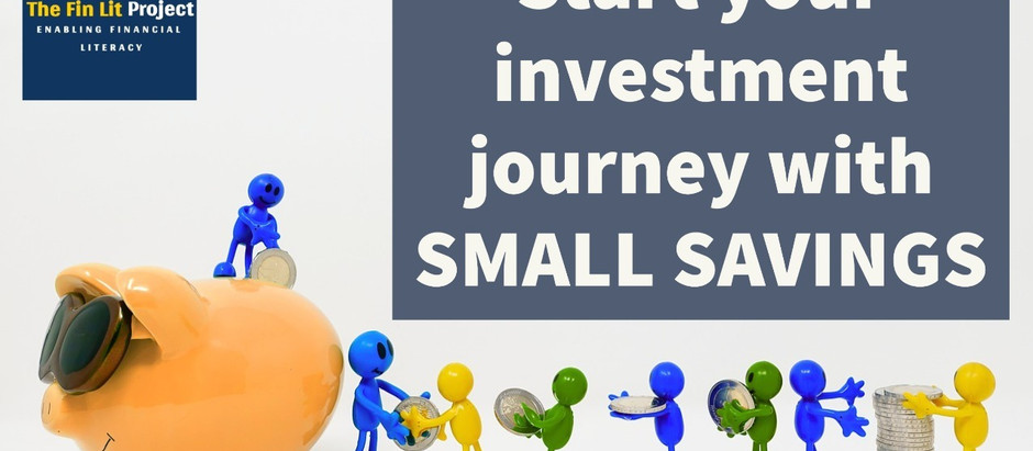 INVESTMENT LANDSCAPE FOR SMALL SAVINGS IN INDIA