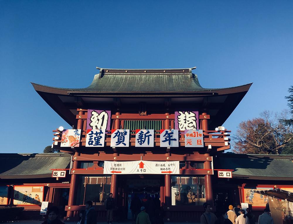 笠間稲荷神社 2019年初詣