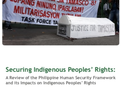 New paper on impacts of govt's human security framework on IP rights
