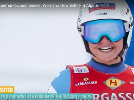 Corinne Suter Wins Downhill in Altenmarkt-Zauchensee