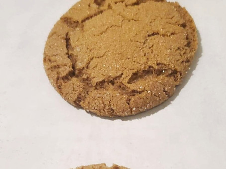 Red Fife Molasses Cookies