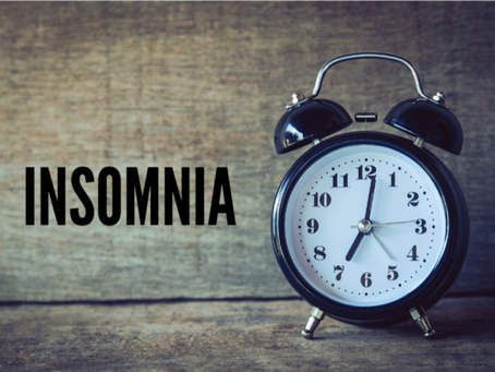 It's time to talk about insomnia...