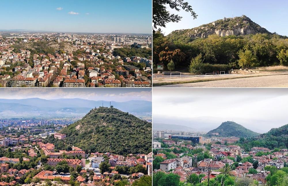 Collines de Plovdiv Bulgarie