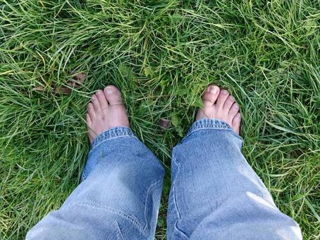 Auf eigenen Füßen stehen