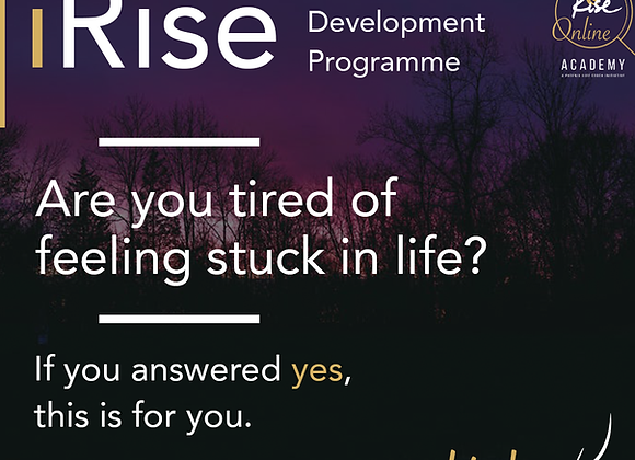 iRise Online Self Development Programme