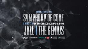 Tonight on Exode Records Radio [Symphony of Core]