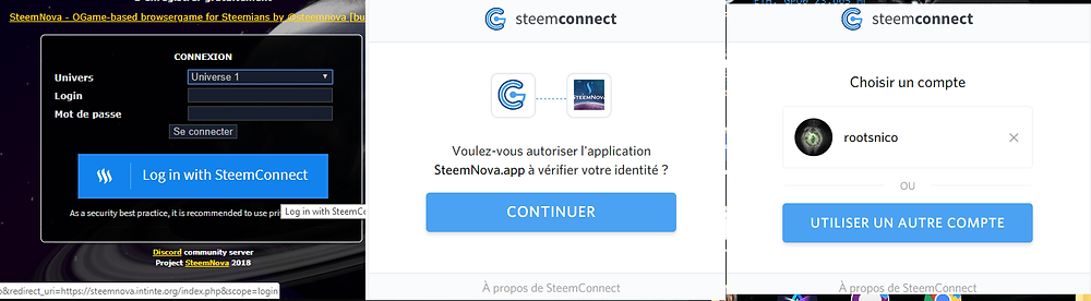 steemconnect steemnova