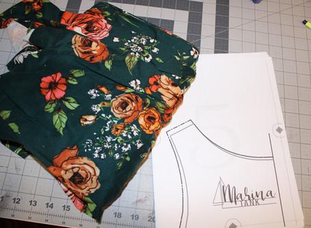 Sew along with ALD: Marina Tank