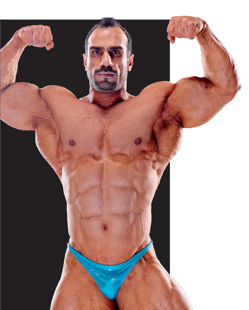 MOHAMMED DASHTI محمد دشتي لاعب اوزان ثقيلة مجلة بيرفكت فت
