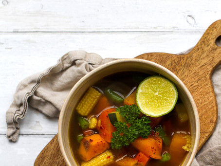 Chunky Vegetable Broth