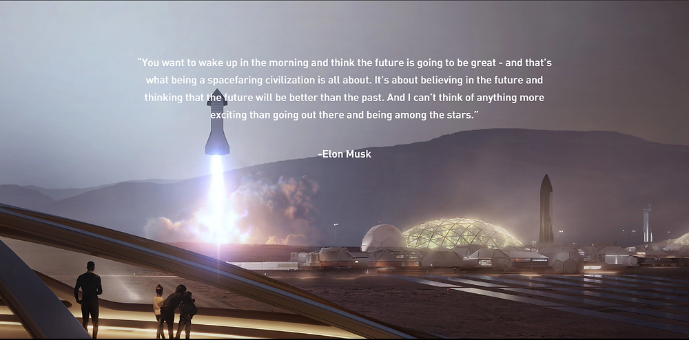 City on Mars - SpaceX