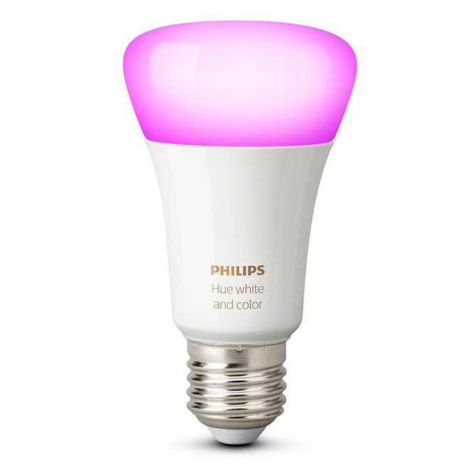 1. Philips Hue White and Color LED light bulb