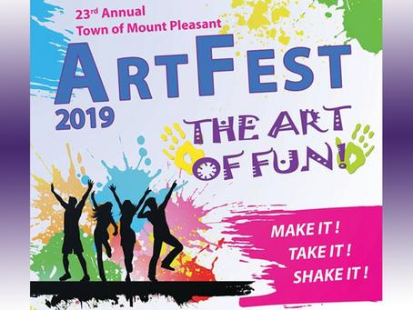 Mt Pleasant Art Fest 2019