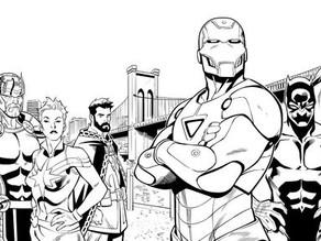 Descansa en Paz, Juan Vlasco artista de MARVEL Comics
