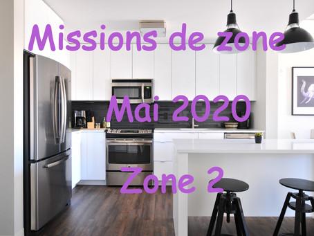Zones : Missions semaine 19 - Zone 2