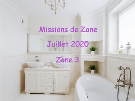 Zones : Missions semaine 29 - Zone 3