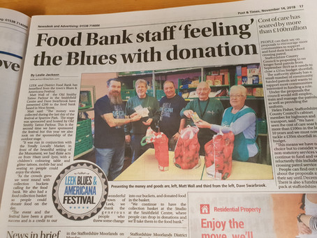 Leek Post & Times - Foodbank